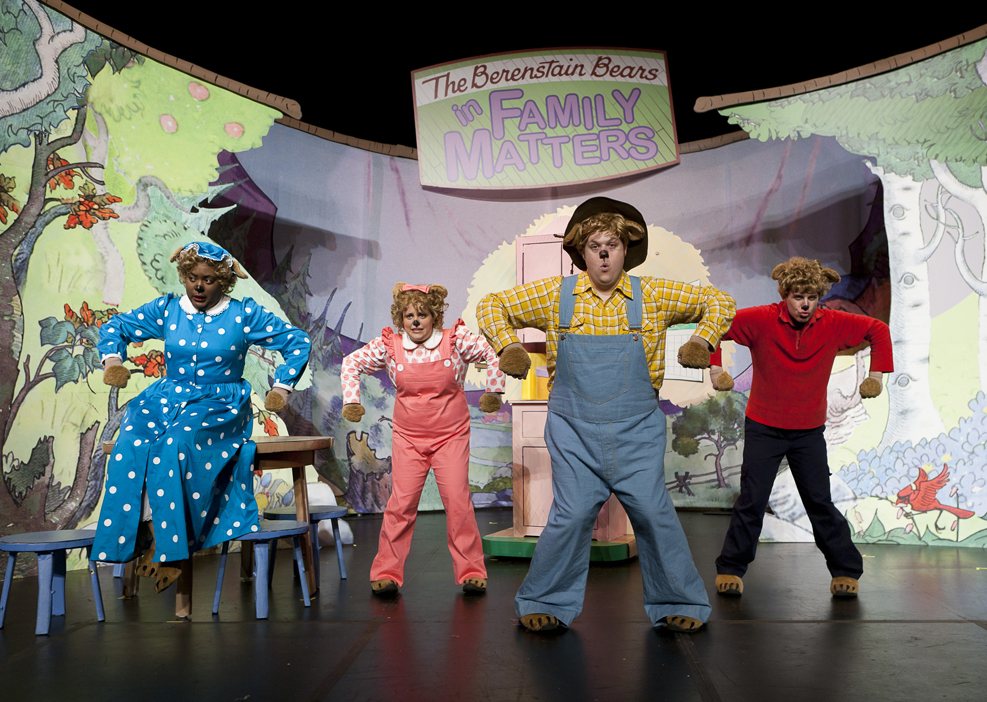Classic Books Teach Family Matters in NYC Theater Production The Berenstain Bears LIVE! & Classic Books Teach Family Matters in NYC Theater Production The ...